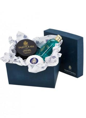 Truefitt And Hill Bathroom Gift Set Limes - Bowl - Bands Gel - Soap