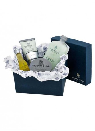 Truefitt And Hill Ultimate Comfort Gift Set - Cream - Balm - Oil And Scrub