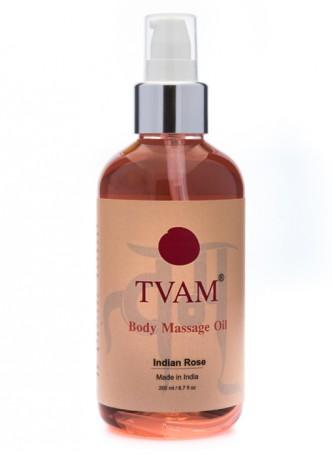 Tvam Body Massage Oil - Rose