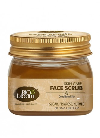 Bio Bloom Natural Face Scrub