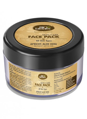 Bio Bloom Facepack - Apricot and Aloe Vera