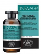 Bottega Di Lungavita Linfa Age Sport Bath and Shower Gel with Eucalyptus Juniper and Mint Essential Oils