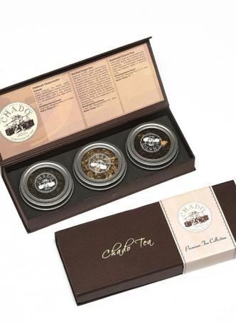 Chado Tea 3 Can Premium Gift Box