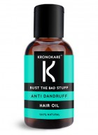 Kronokare Bust the Bad Stuff - Anti Dandruff Hair Oil - 30ml