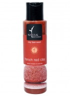 Natural Bath and Body Scrub Face Wash - Red Clay