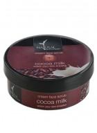 Natural Bath and Body Cream Face Scrub Cocoa Milk