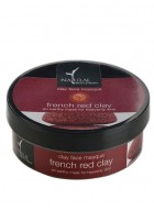 Natural Bath and Body Clay Face Mask - French Red Clay