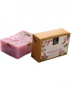 Natural Bath and Body Bathing Bar - Rose and Almond - Soap
