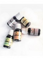 Soil Fragrances Set of 5 Aroma Oils (Jasmine, Lotus, Rose, Strawberry & Lemon Grass)