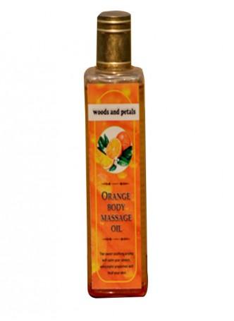 Woods and Petals Orange Body Massage Oil
