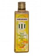 Woods and Petals Lemongrass Body Massage Oil