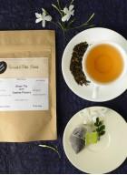 Woods and Petals Darjeeling Green Tea with Jasmine Flower (Pack of 2)