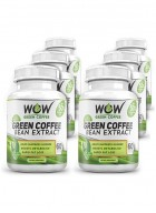 Wow Green Coffee Bean Extract - Pack Of 6
