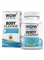 Wow Body Cleanse - Colon Cleanse And Detox Dietary Natural Weight Management Supplement - 60 Veg Capsules
