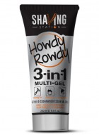 Shaving Station - Howdy Rowdy 3 in 1 Gel (Pack of 2)