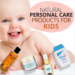 Pamper your Baby with Goodness of Nature
