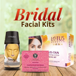 Get the Bridal Glow with our Bridal Facial Kits