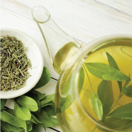 Indulgence in the Goodness of Green Tea