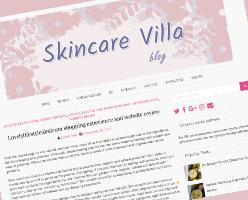 Skincare Villa blog Lovelylifestyle