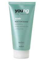Natio Young For Oily Combination Skin Wash