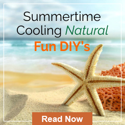 summer time cooling natural fun DIY