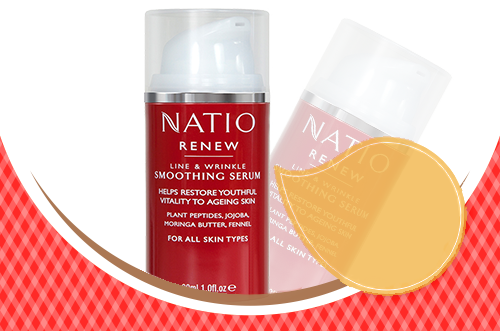 Natio Renew Line and Wrinkle Smoothing Serum