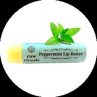Raw Rituals Peppermint Lip Balm (Pack of 2)