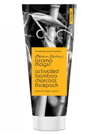 Aroma Magic Activated Bamboo Charcoal Facepack
