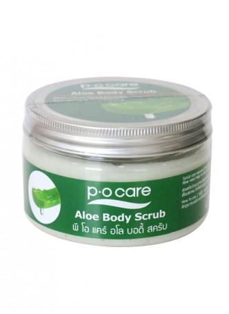 P.O CARE Aloe Body Scrub 250gm