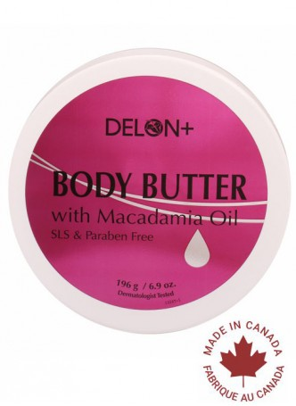 Delon Body Butter Macadamia Oil