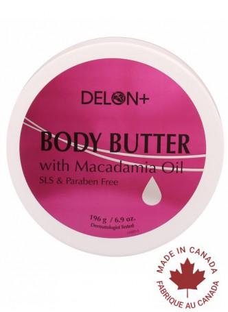 Delon Body Butter Macadamia Oil