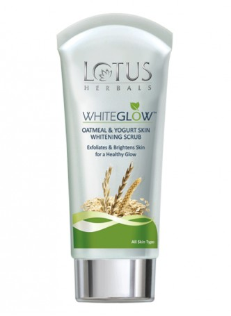 Lotus Herbals White Glow Oatmeal and Yogurt Skin Whitening Scrub