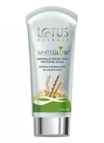 Lotus Herbals White Glow Oatmeal and Yogurt Skin Whitening Scrub